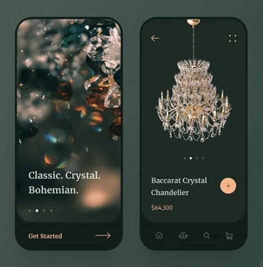Изображение приложения на экране смартфона