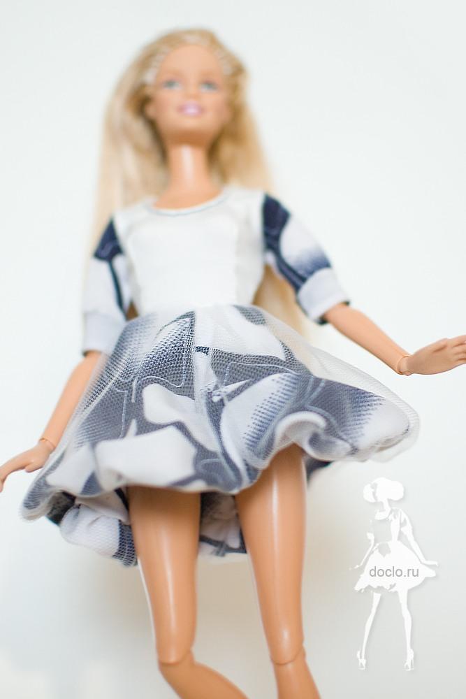 Фотография пышного платья для барби