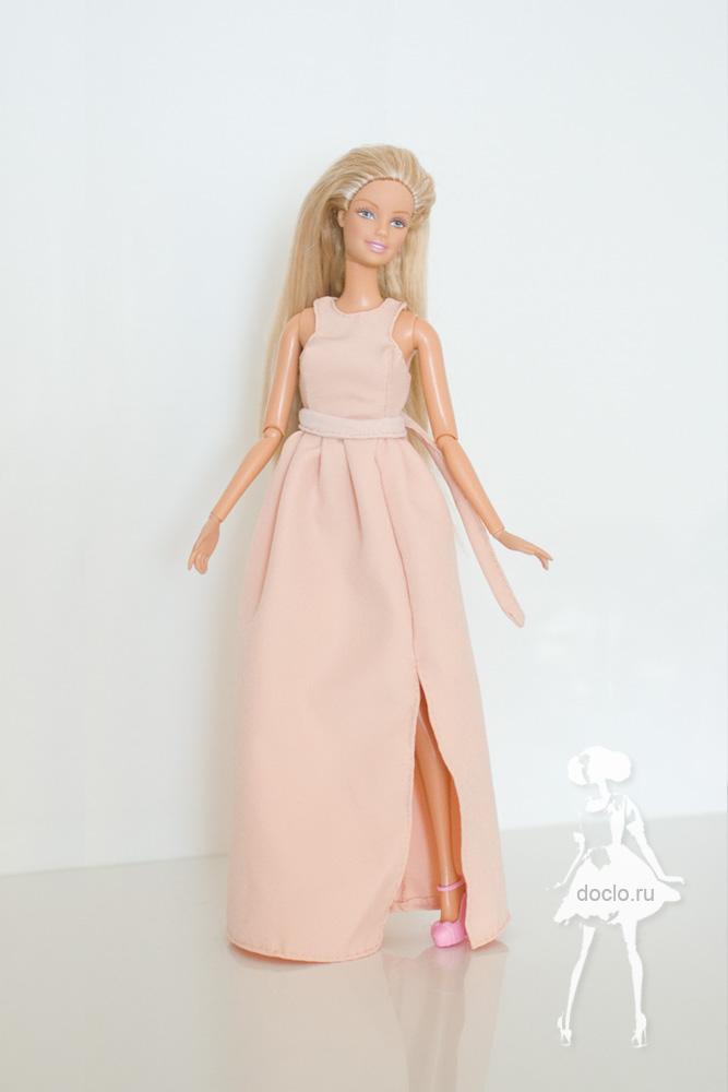 Фотография платья в пол для барби