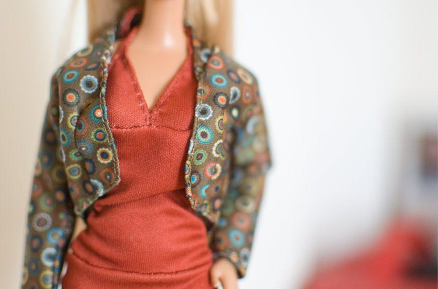 Конструирование кукольной одежды — как хобби